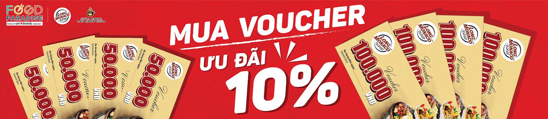 Mua voucher nhận ưu đãi 10%